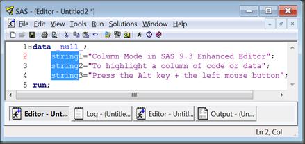 column_SAS_editor