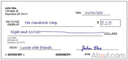 How to Write a Check? Use SAS Format!