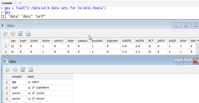 Import .Rdata to SAS, along with Labels